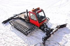 Galanteryjny śnieżny samochód Fotografia Royalty Free