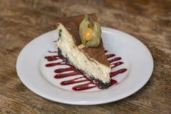 Galanteryjny Cheesecake Zdjęcia Royalty Free