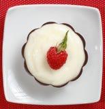 galanteryjny deseru pudding Obraz Stock