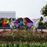 Galanteryjny hourse przy sztuka losem angeles ploen w Buriram Tajlandia Zdjęcie Stock