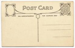 galanteryjny pocztówkowy rocznik Fotografia Stock