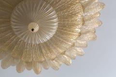 Galanteryjny złoty świecznik Zdjęcie Royalty Free