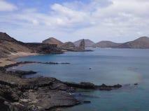 Galapagos νησιά, νησί Bartolomé Στοκ Φωτογραφία