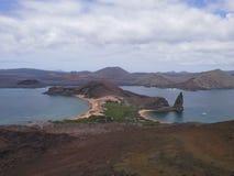 Galapagos νησιά, νησί Bartolomé Στοκ εικόνες με δικαίωμα ελεύθερης χρήσης