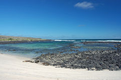 Galapagos coast. Royalty Free Stock Image