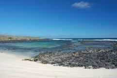 Galapagos coast. Royalty Free Stock Image