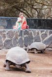 Galapagos family vacation Royalty Free Stock Photography