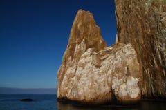 Galapagos kopacza skała Zdjęcia Stock