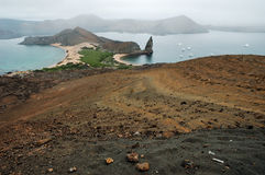 Galapagos Landscape. View of the Galapagos Islands Stock Image
