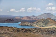 Galapagos-Landschaft Lizenzfreie Stockfotografie
