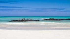 galapagos morza widok Fotografia Royalty Free