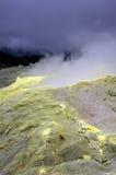 Galapagos Sulfur Volcano Royalty Free Stock Image