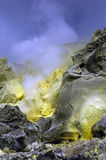 Galapagos Sulfur Volcano Royalty Free Stock Images