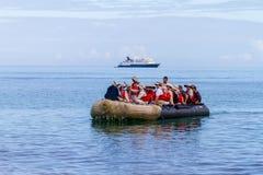 Galapagos wycieczka turysyczna Fotografia Royalty Free