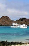 Galapagos Yachts Stock Photos