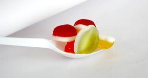 Galaretowa smak owoc, cukierku deser, Bonbons fotografia stock