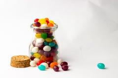 Galaretowej fasoli cukierki Zdjęcia Stock