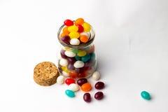 Galaretowej fasoli cukierki Obrazy Stock