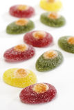 Galaretowy cukierek, zakończenie Obraz Royalty Free
