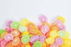 Galaretowy cukierki, smak owoc, cukierku deser kolorowy Zdjęcia Stock