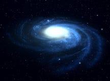 Galassia. illustrazione di stock