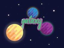 galassia Fotografie Stock