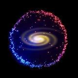 galassia Fotografia Stock