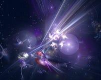 Galassia astratta illustrazione vettoriale
