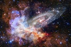 Galassia d'ardore, carta da parati impressionante della fantascienza fotografie stock libere da diritti