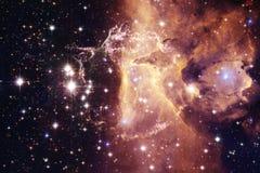 Galassia d'ardore, carta da parati impressionante della fantascienza immagini stock libere da diritti