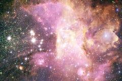 Galassia d'ardore, carta da parati impressionante della fantascienza immagini stock