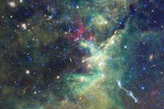 Galassia d'ardore, carta da parati impressionante della fantascienza royalty illustrazione gratis