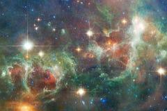 Galassia da qualche parte nello spazio cosmico Elementi di questa immagine ammobiliati dalla NASA immagine stock libera da diritti