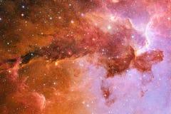 Galassia da qualche parte nello spazio cosmico Elementi di questa immagine ammobiliati dalla NASA royalty illustrazione gratis
