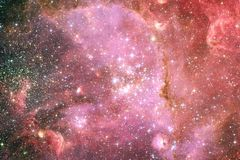 Galassia da qualche parte nello spazio profondo Bellezza dell'universo fotografia stock