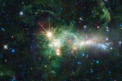 Galassia da qualche parte nello spazio profondo Bellezza dell'universo immagini stock libere da diritti