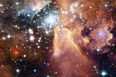 Galassia da qualche parte nello spazio profondo Bellezza dell'universo fotografie stock libere da diritti