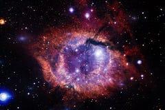 Galassia da qualche parte nello spazio profondo Bellezza dell'universo illustrazione vettoriale