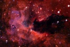 Galassia da qualche parte nello spazio profondo Bellezza dell'universo illustrazione di stock