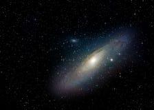 Galassia del Andromeda (M31) Fotografie Stock Libere da Diritti