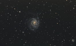Galassia della girandola fotografie stock