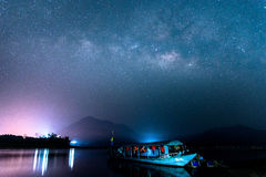 Galassia della Via Lattea fotografia stock libera da diritti