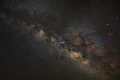 galassia della Via Lattea, fotografia lunga di esposizione, con grano Immagine Stock