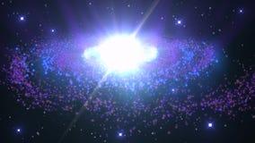 Galassia dello spazio illustrazione vettoriale