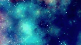 Galassia di esplorazione di viaggio nello spazio Fotografie Stock Libere da Diritti