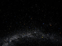 Galassia ed universo Immagini Stock Libere da Diritti