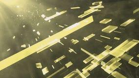 galassia gialla 2 della scatola illustrazione vettoriale