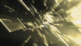 Galassia gialla 4 della scatola illustrazione vettoriale