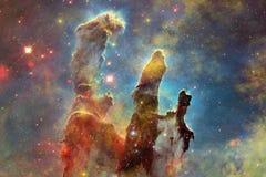 Galassia impressionante nello spazio cosmico Starfields di universo senza fine Elementi di questa immagine ammobiliati dalla NASA fotografia stock libera da diritti