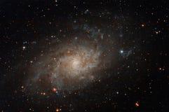 Galassia nel cielo notturno fotografia stock
